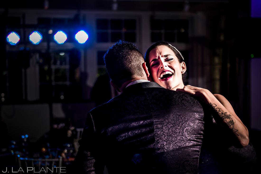 Bride and Groom First Dance | Manor House Wedding | Denver Wedding Photographer | J. La Plante Photo