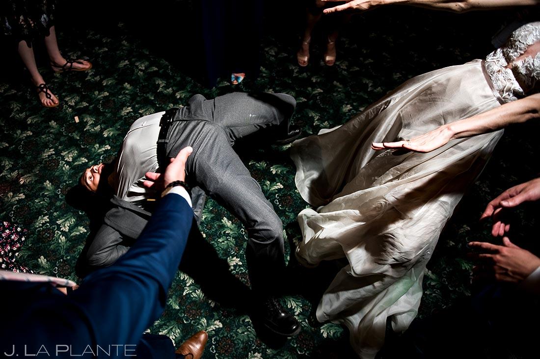 Wedding Reception Dance Party   Dao House Wedding   Estes Park Wedding Photographer   J. La Plante Photo