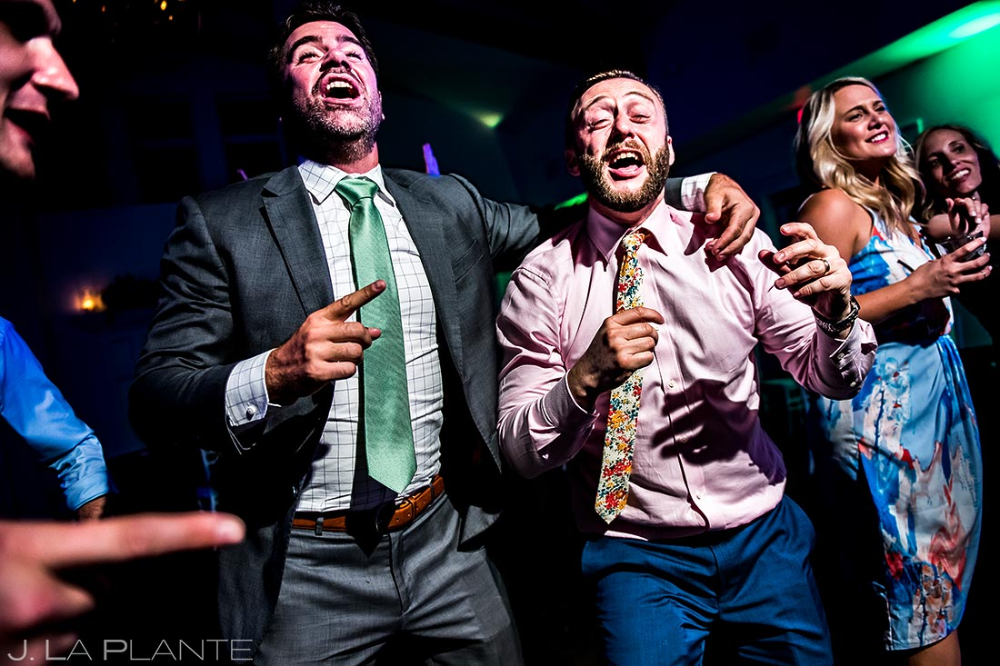 Wedding Reception Dance Party | Manor House Wedding | Denver Wedding Photographer | J. La Plante Photo