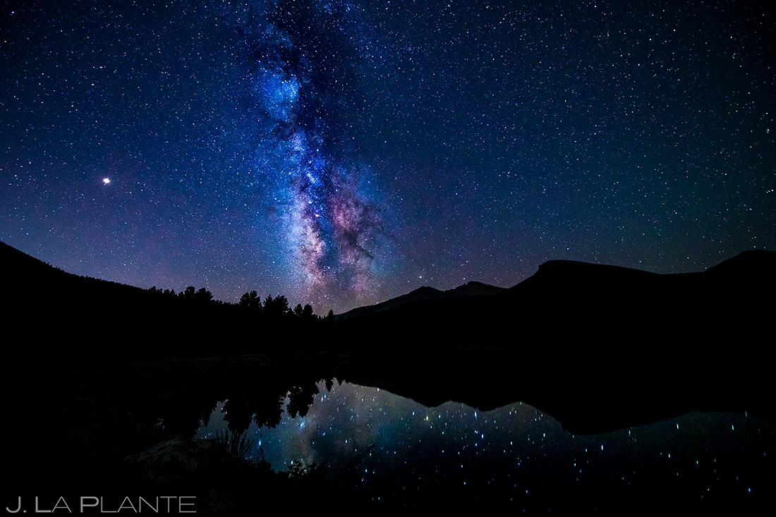 Milky Way in Estes Park | Dao House Wedding | Estes Park Wedding Photographer | J. La Plante Photo