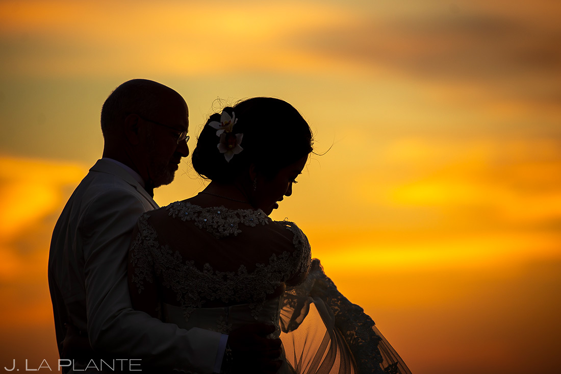 Bride and Groom Sunrise | Rhode Island Wedding | Destination Wedding Photographer | J. La Plante Photo
