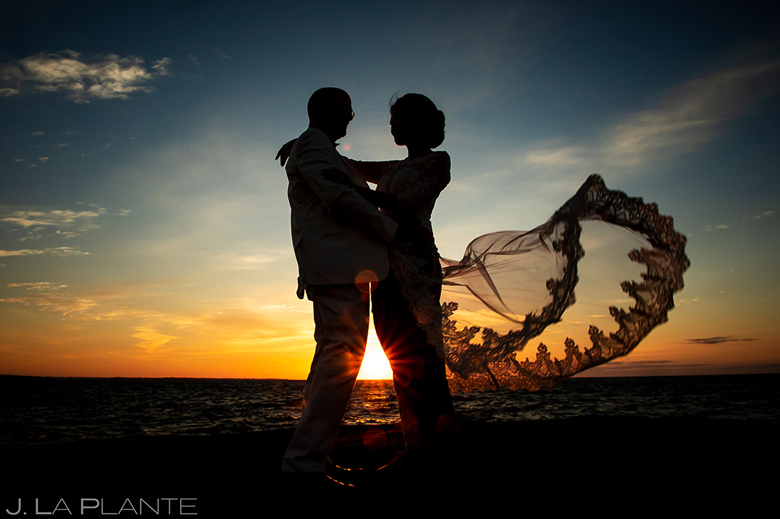 Sunrise Wedding Photo | Rhode Island Wedding | Destination Wedding Photographer | J. La Plante Photo