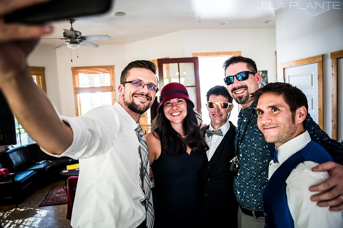 Groom Getting Ready | Buena Vista Wedding | Rustic Mountain Wedding | Colorado Wedding Photographer | J. La Plante Photo