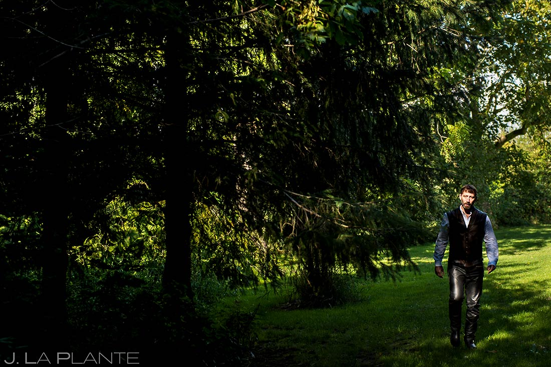 Bride and Groom First Look | Barnstar Wedding | Bellingham Washington Wedding | Destination Wedding Photographer | J. La Plante Photo