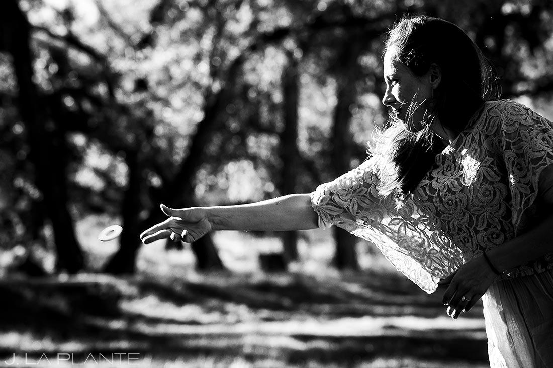 Wedding Reception Lawn Games | Buena Vista Wedding | Rustic Mountain Wedding | Colorado Wedding Photographer | J. La Plante Photo