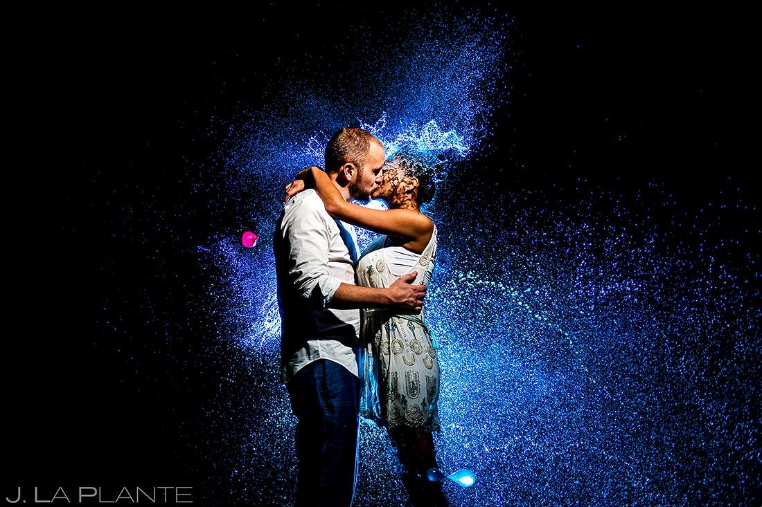 Bride and Groom Water Balloons | Dallas Winery Wedding | Destination Wedding Photographer | J. La Plante Photo