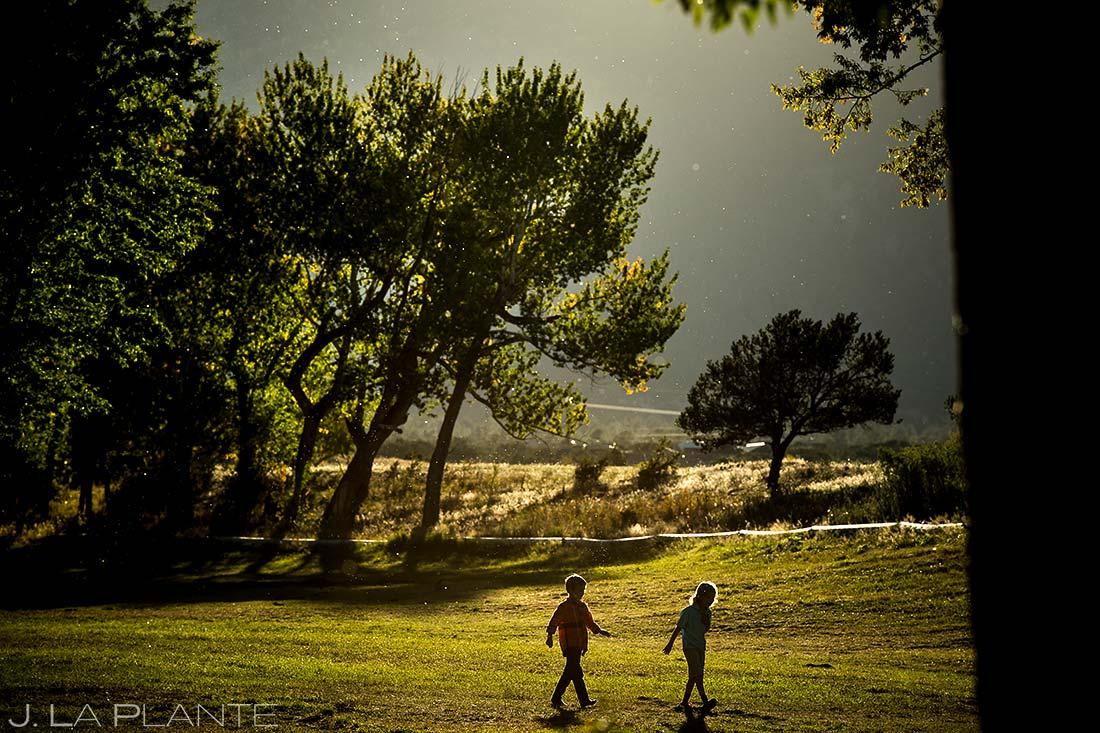 Wedding Kids | Buena Vista Wedding | Rustic Mountain Wedding | Colorado Wedding Photographer | J. La Plante Photo