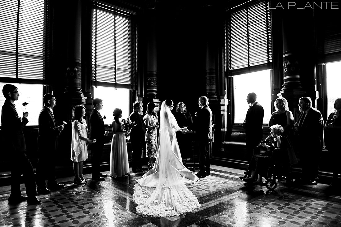 Bride and Groom Wedding Ceremony | Rhode Island Wedding | Destination Wedding Photographer | J. La Plante Photo