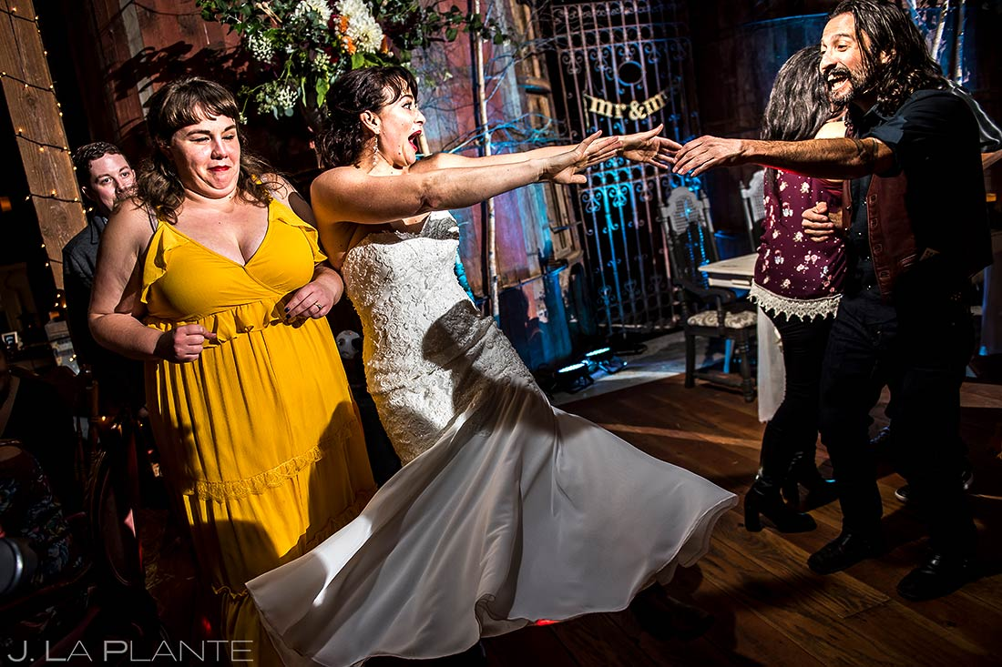 Wedding Reception Dance Party | Barnstar Wedding | Bellingham Washington Wedding | Destination Wedding Photographer | J. La Plante Photo