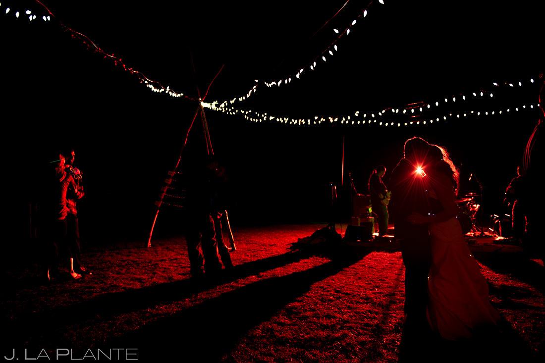 Wedding Reception Dance Party | Buena Vista Wedding | Rustic Mountain Wedding | Colorado Wedding Photographer | J. La Plante Photo