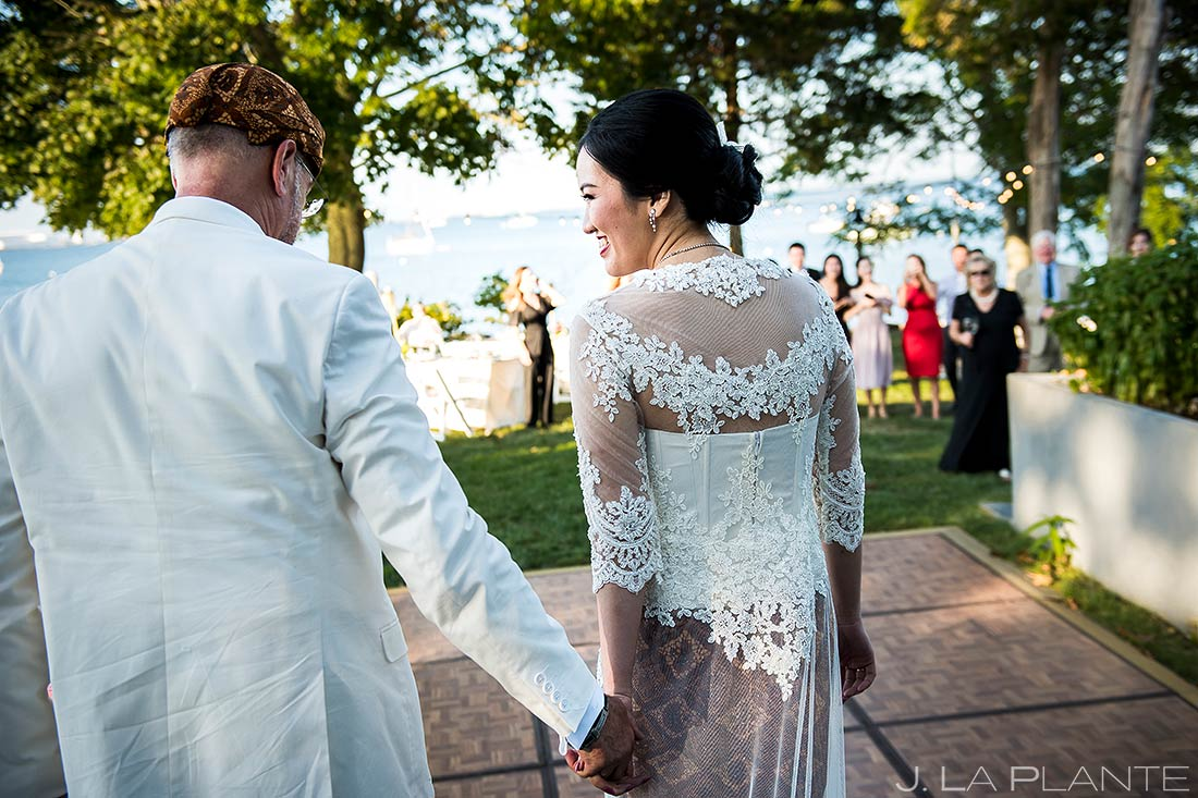 Bride and Groom Entrance | Rhode Island Wedding | Destination Wedding Photographer | J. La Plante Photo