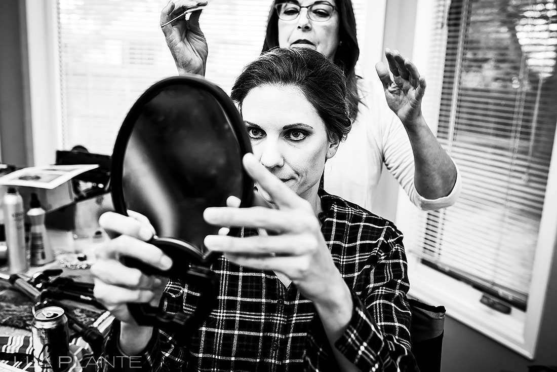 Bride Getting Ready | Shupe Homestead Wedding | Boulder Wedding Photographer | J. La Plante Photo