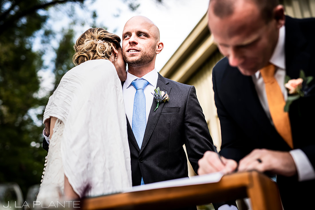 Marriage License | Shupe Homestead Wedding | Boulder Wedding Photographer | J. La Plante Photo