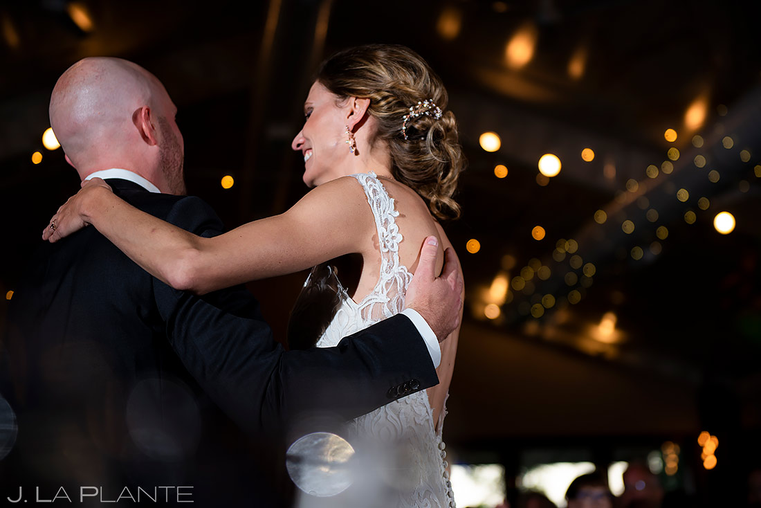 Bride and Groom First Dance | Shupe Homestead Wedding | Boulder Wedding Photographer | J. La Plante Photo