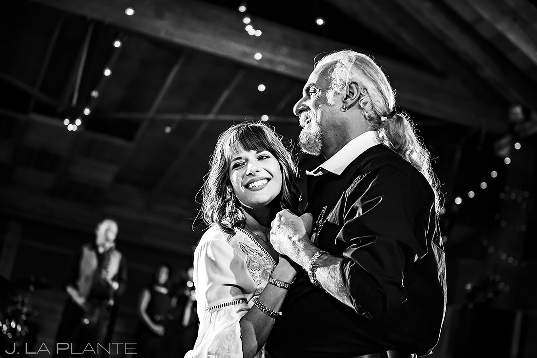 Father Daughter Dance | Planet Bluegrass Wedding | Boulder Wedding Photographer | J. La Plante Photo