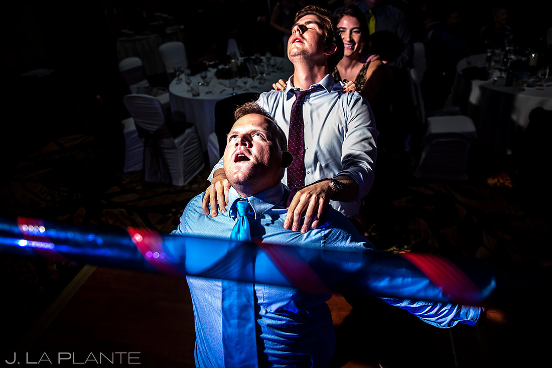 Wedding Reception Dance Party | Cheyenne Mountain Resort Wedding | Colorado Springs Wedding Photographer | J. La Plante Photo