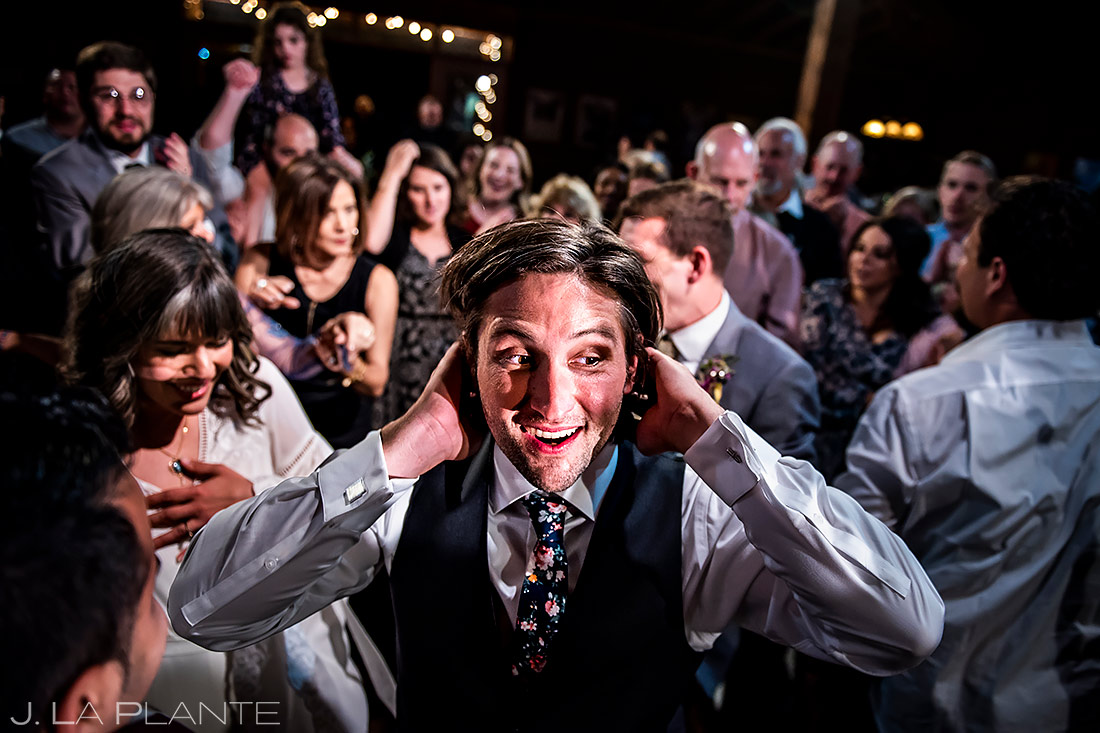 Wedding Reception Dance Party | Planet Bluegrass Wedding | Boulder Wedding Photographer | J. La Plante Photo
