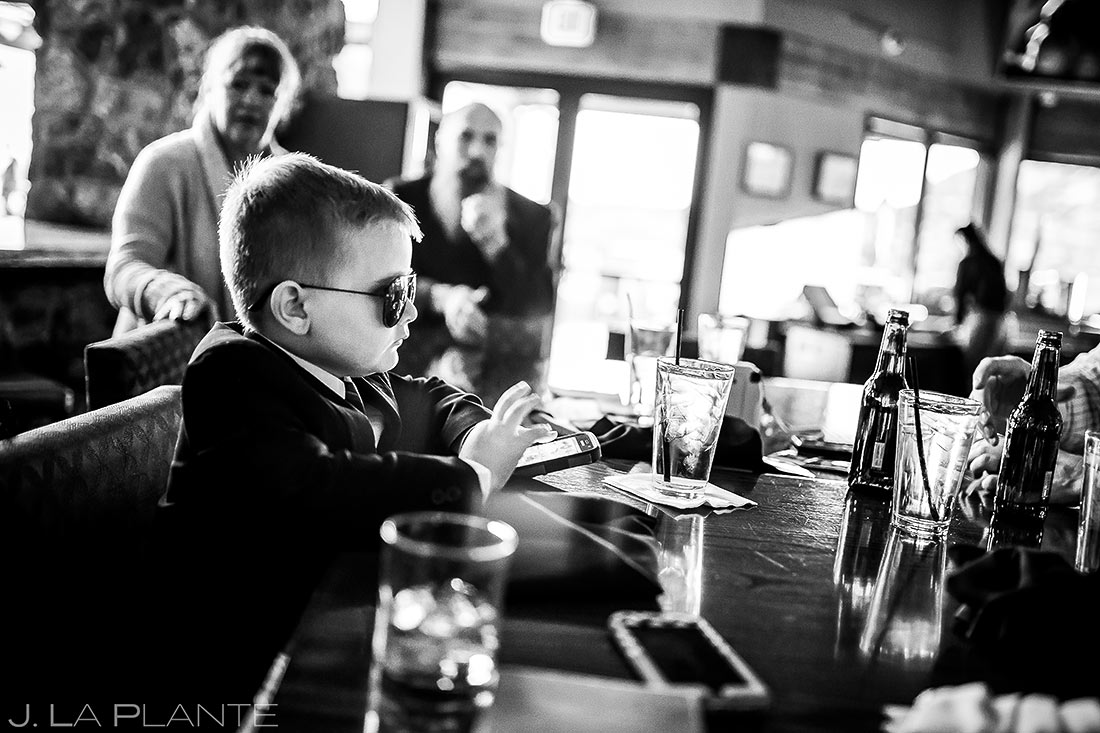 Funny Wedding Kids | Cheyenne Mountain Resort Wedding | Colorado Springs Wedding Photographer | J. La Plante Photo
