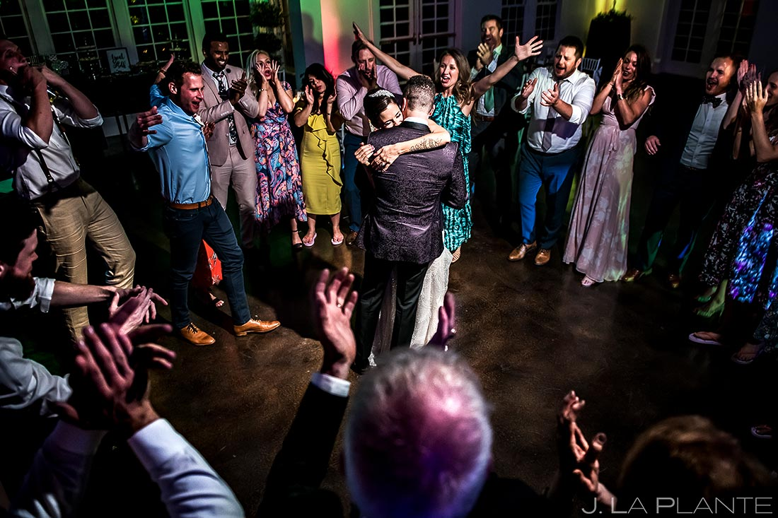 Bride and Groom Last Dance | Manor House Wedding | Denver Wedding Photographer | J. La Plante Photo