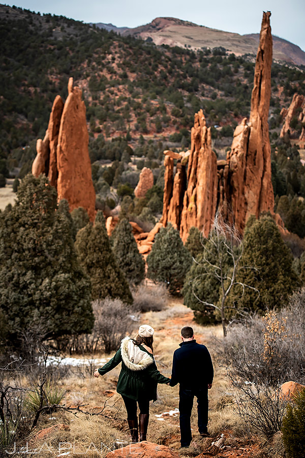 Garden of the Gods Engagement   Colorado Springs Engagement   Colorado Springs Wedding Photographer   J. La Plante Photo