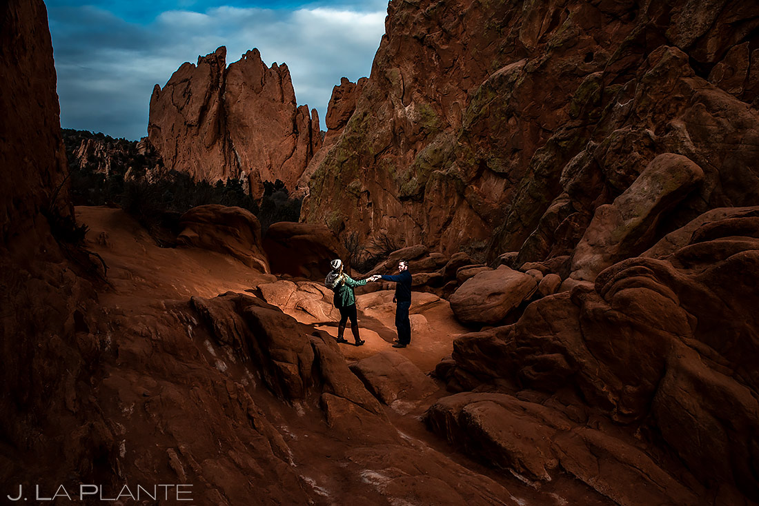 Garden of the Gods Engagement | Colorado Springs Engagement | Colorado Springs Wedding Photographer | J. La Plante Photo