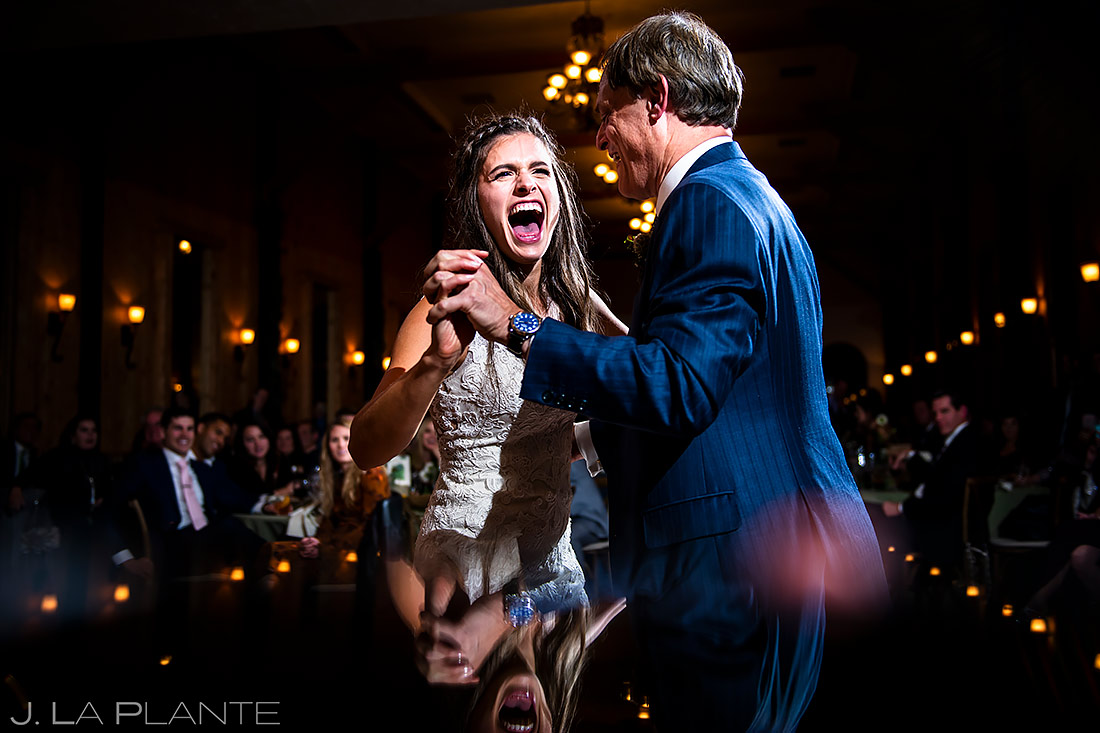 Father Daughter Dance | Crooked Willow Farms Wedding | Colorado Wedding Photographer | J. La Plante Photo