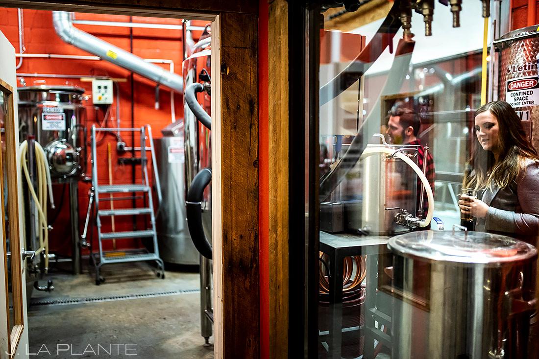 Iron Bird Brewing Engagement   Colorado Springs Engagement   Colorado Springs Wedding Photographer   J. La Plante Photo