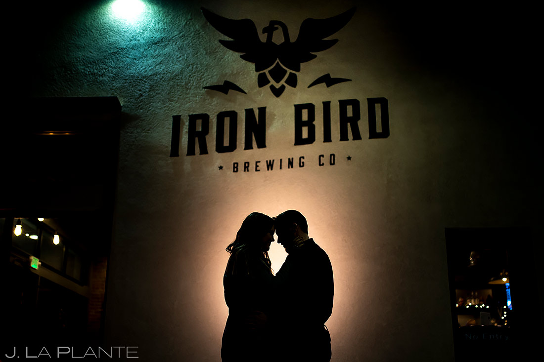 Iron Bird Brewing Engagement | Colorado Springs Engagement | Colorado Springs Wedding Photographer | J. La Plante Photo