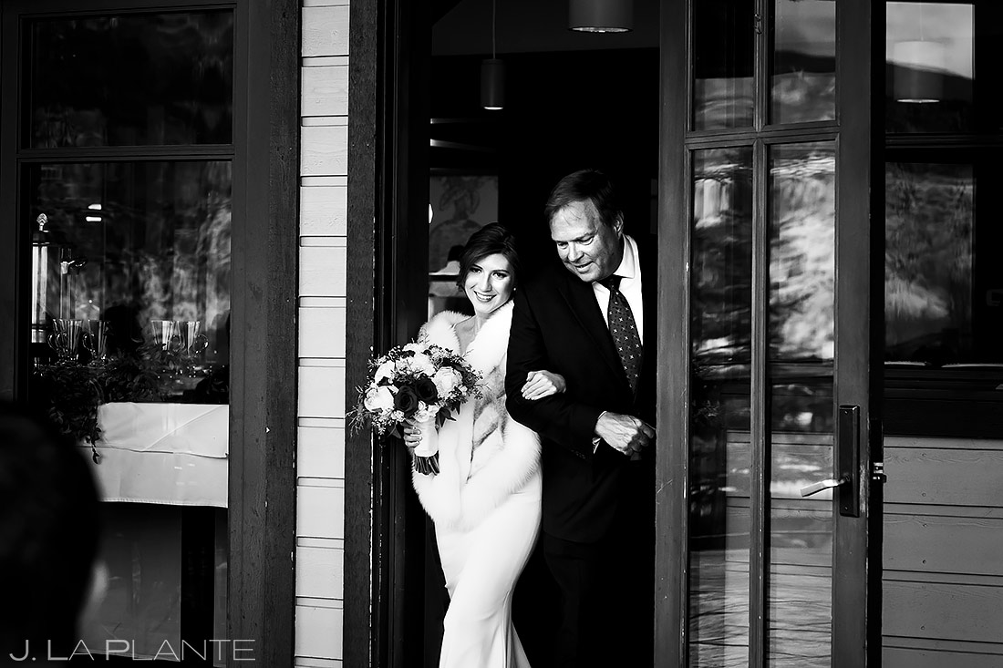 Mountain Wedding Ceremony | Sonnenalp Club Wedding | Beaver Creek Wedding Photographer | J. La Plante Photo