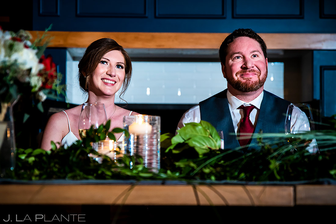 Wedding Toasts | Sonnenalp Club Wedding | Beaver Creek Wedding Photographer | J. La Plante Photo