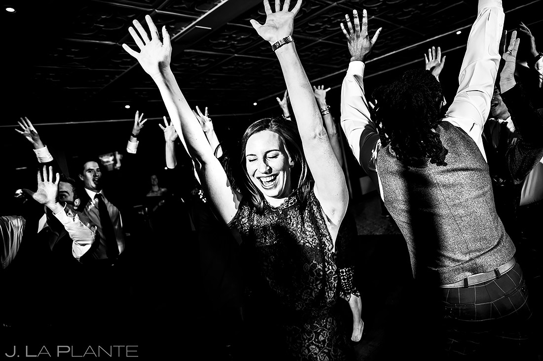 Wedding Reception Dance Party | Sonnenalp Club Wedding | Beaver Creek Wedding Photographer | J. La Plante Photo