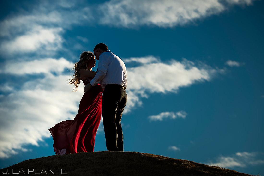 Bride in a Cool Dress | Loveland Engagement | Colorado Wedding Photographers | J. La Plante Photo