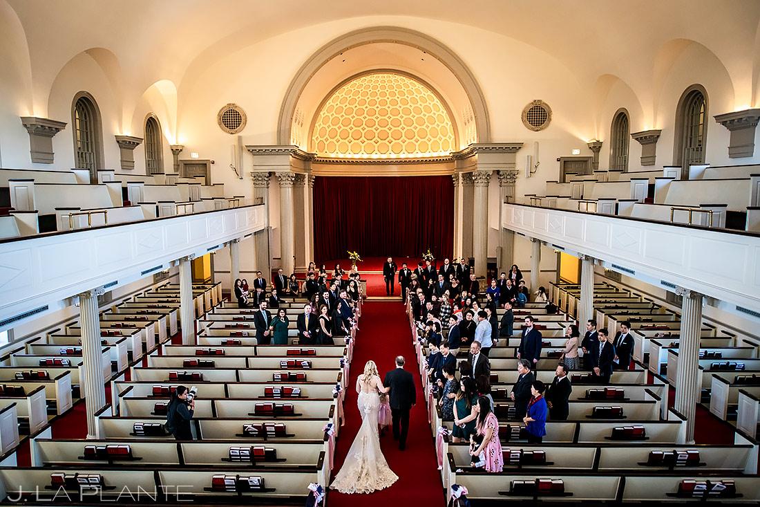 Church Wedding Ceremony | Washington DC Wedding | Destination Wedding Photographer | J. La Plante Photo