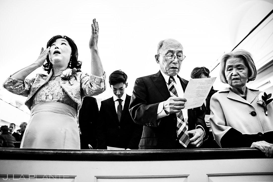 Mother of the Groom Crying During Ceremony | Washington DC Wedding | Destination Wedding Photographer | J. La Plante Photo