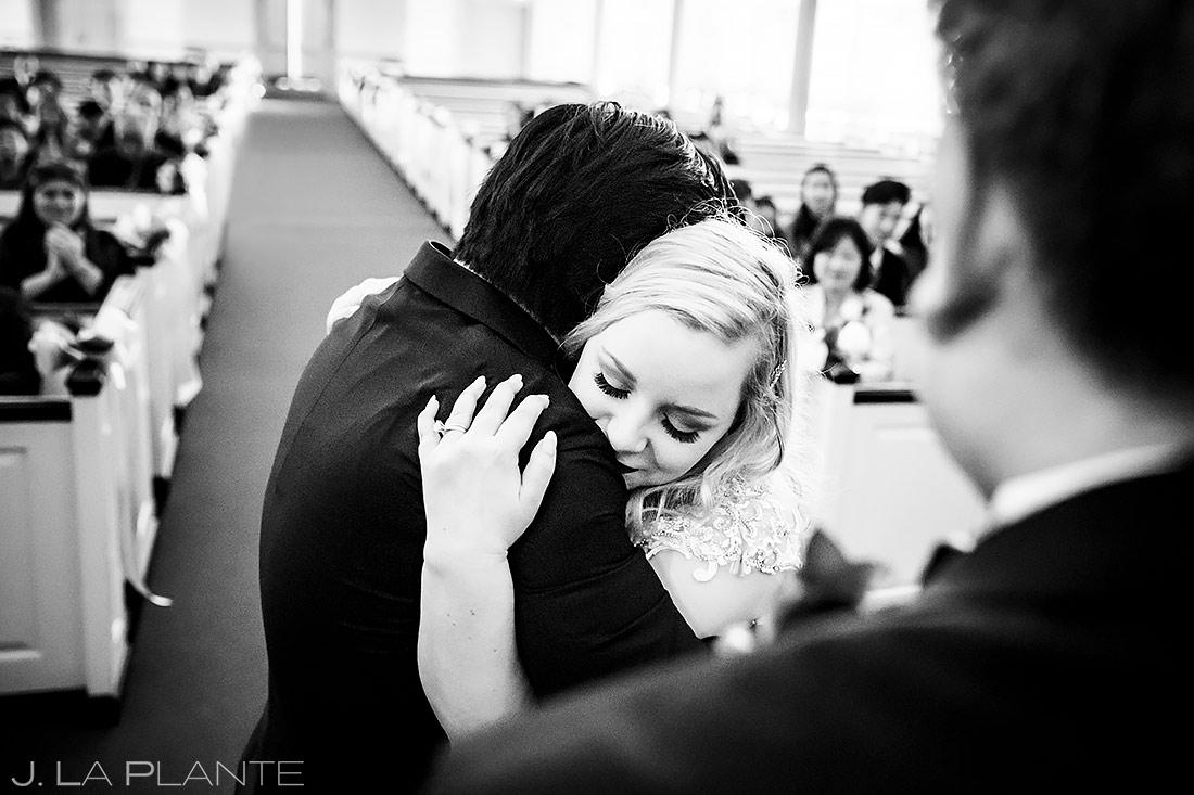 Wedding Ceremony First Kiss | Washington DC Wedding | Destination Wedding Photographer | J. La Plante Photo