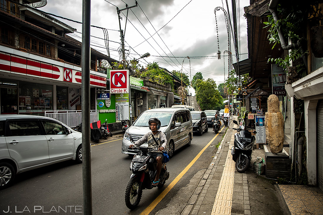Ubud Street Scene | Bali Indonesia | Travel Photography | J. La Plante Photo