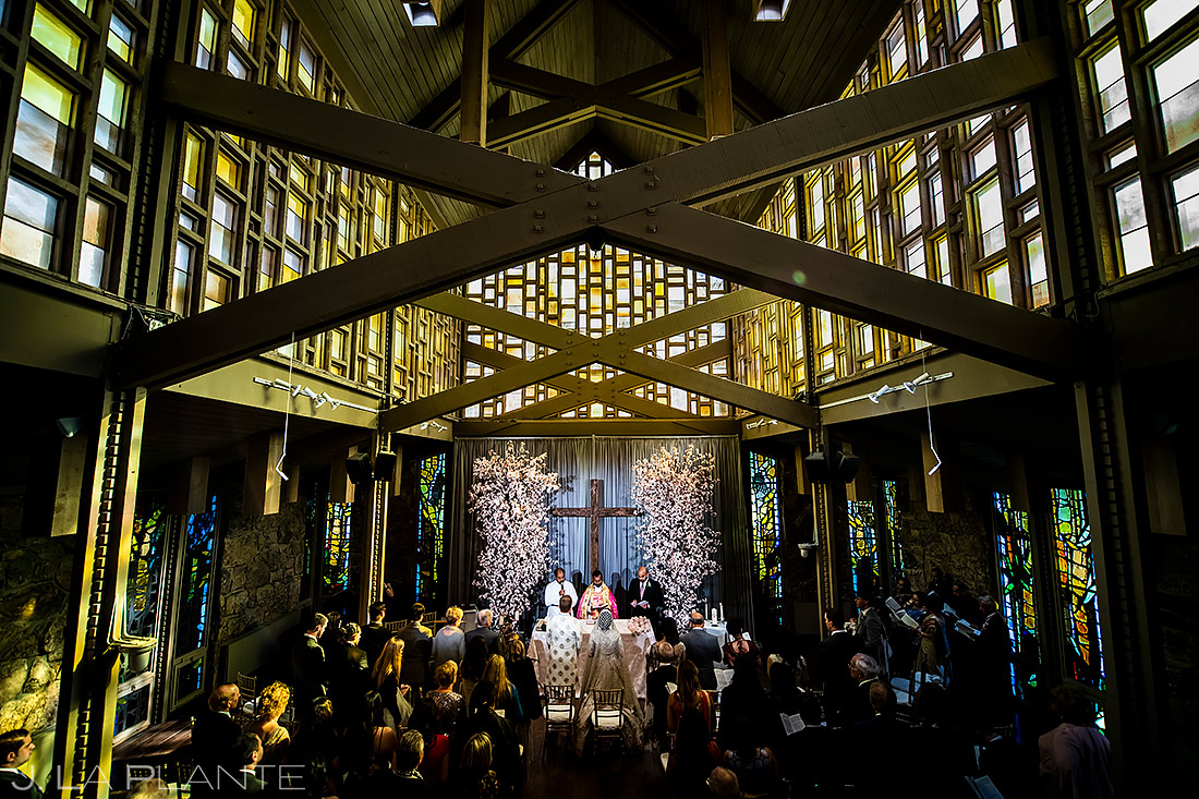 hindu ceremony at the aspen chapel