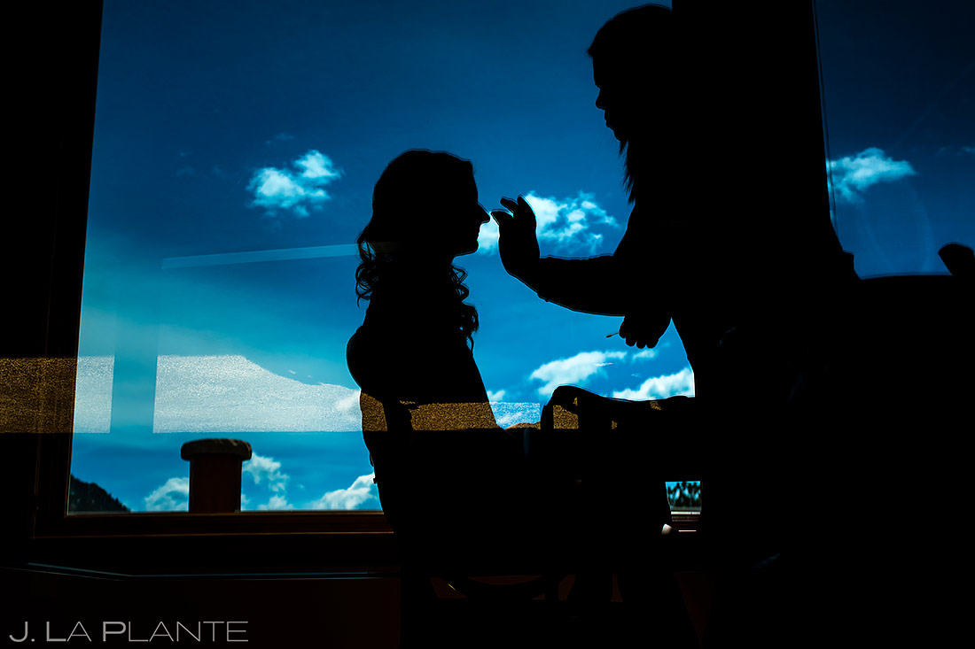 Bride Getting Ready | Stanley Hotel Wedding | Estes Park Wedding Photographer | J. La Plante Photo