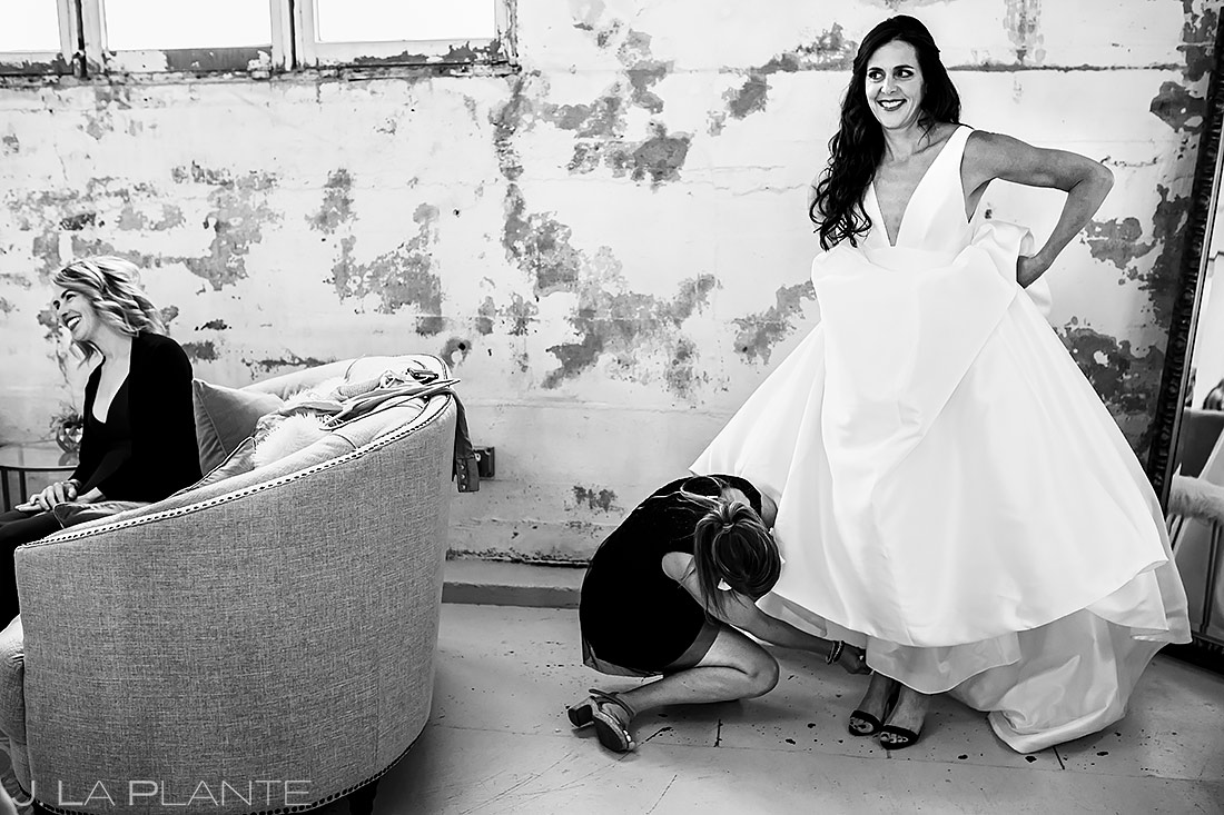 Bride Getting Ready | Longmont Wedding | Boulder Wedding Photographer | J. La Plante Photo