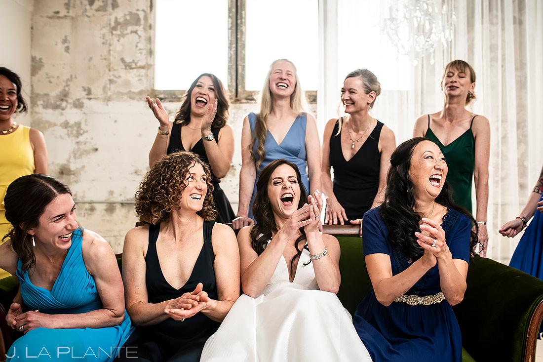 Bridesmaids Portrait | St Vrain Wedding | Boulder Wedding Photographer | J. La Plante Photo