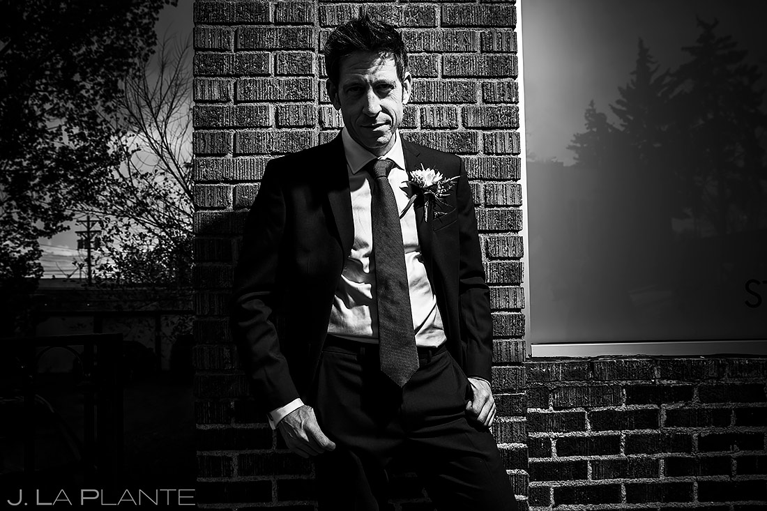 Groom Portrait | St Vrain Wedding | Boulder Wedding Photographer | J. La Plante Photo