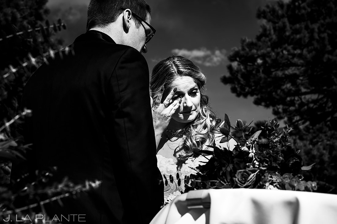 Mountain Wedding Ceremony | Stanley Hotel Wedding | Estes Park Wedding Photographer | J. La Plante Photo