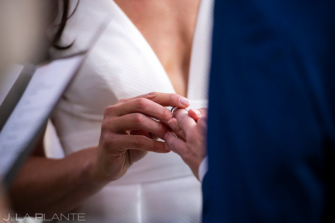 Outdoor Wedding Ceremony | St Vrain Wedding | Boulder Wedding Photographer | J. La Plante Photo