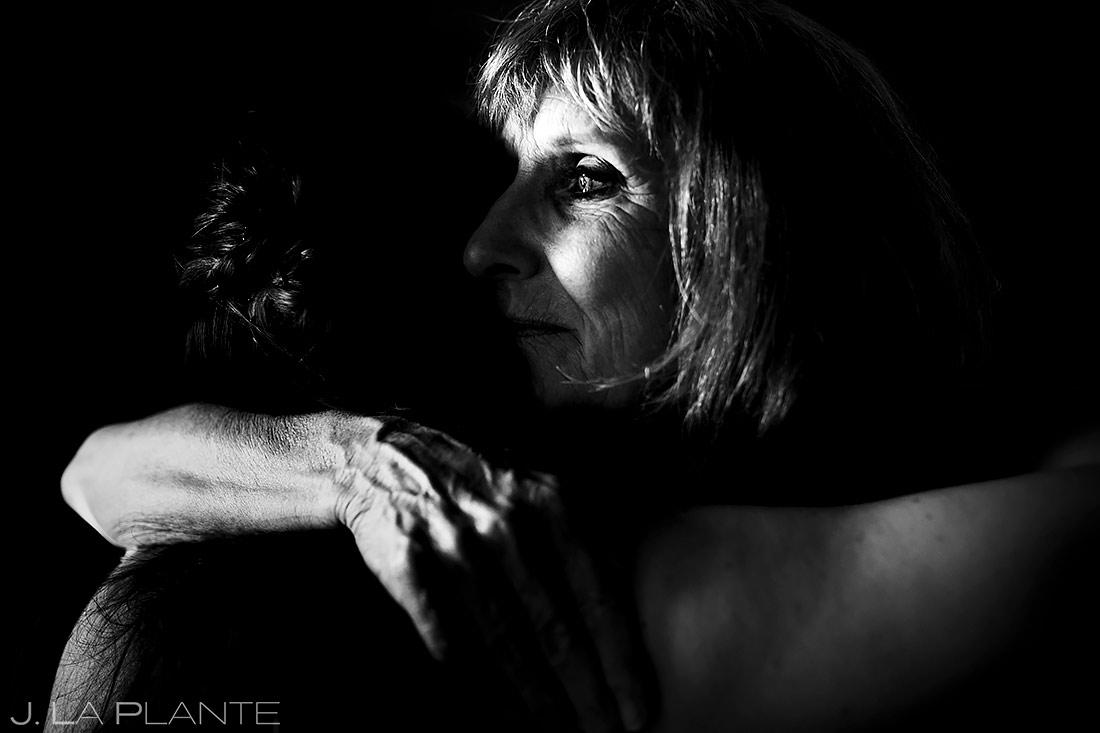 Bride Hugging Mother | St Lucia Wedding | Destination Wedding Photographer | J. La Plante Photo