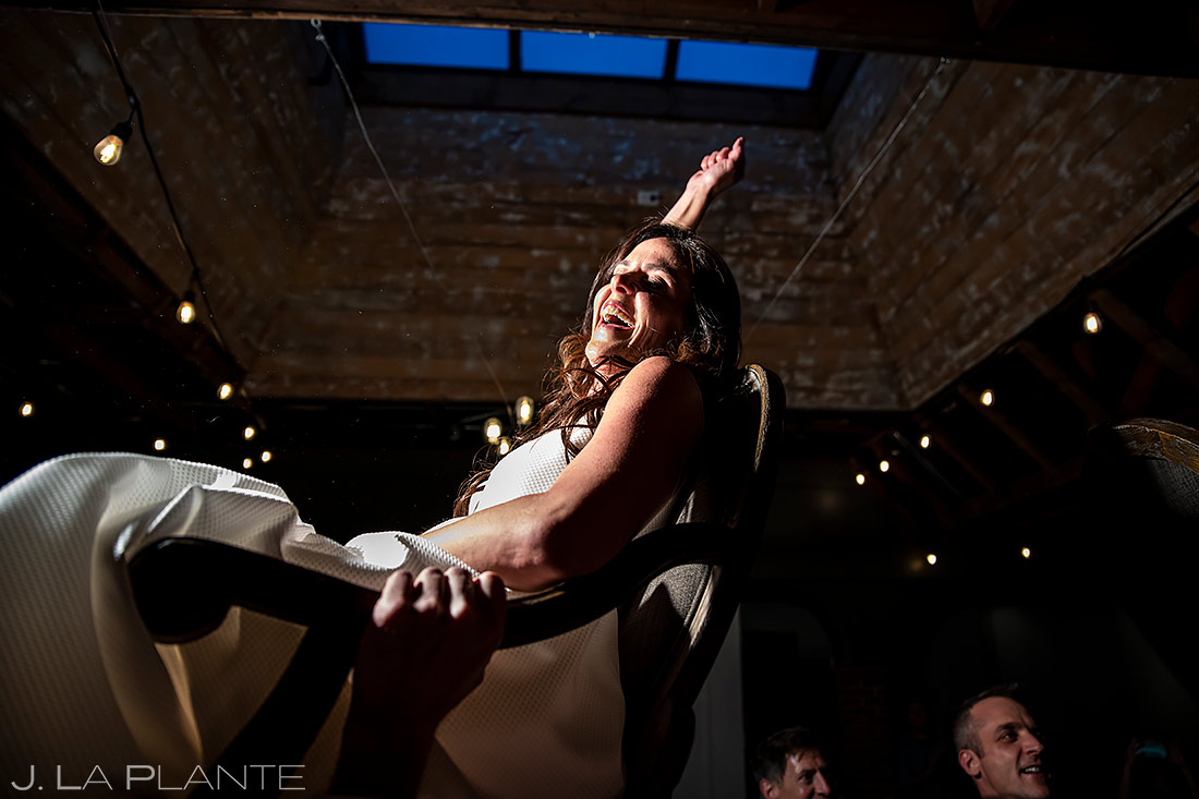 Jewish Wedding Hora | St Vrain Wedding | Boulder Wedding Photographer | J. La Plante Photo