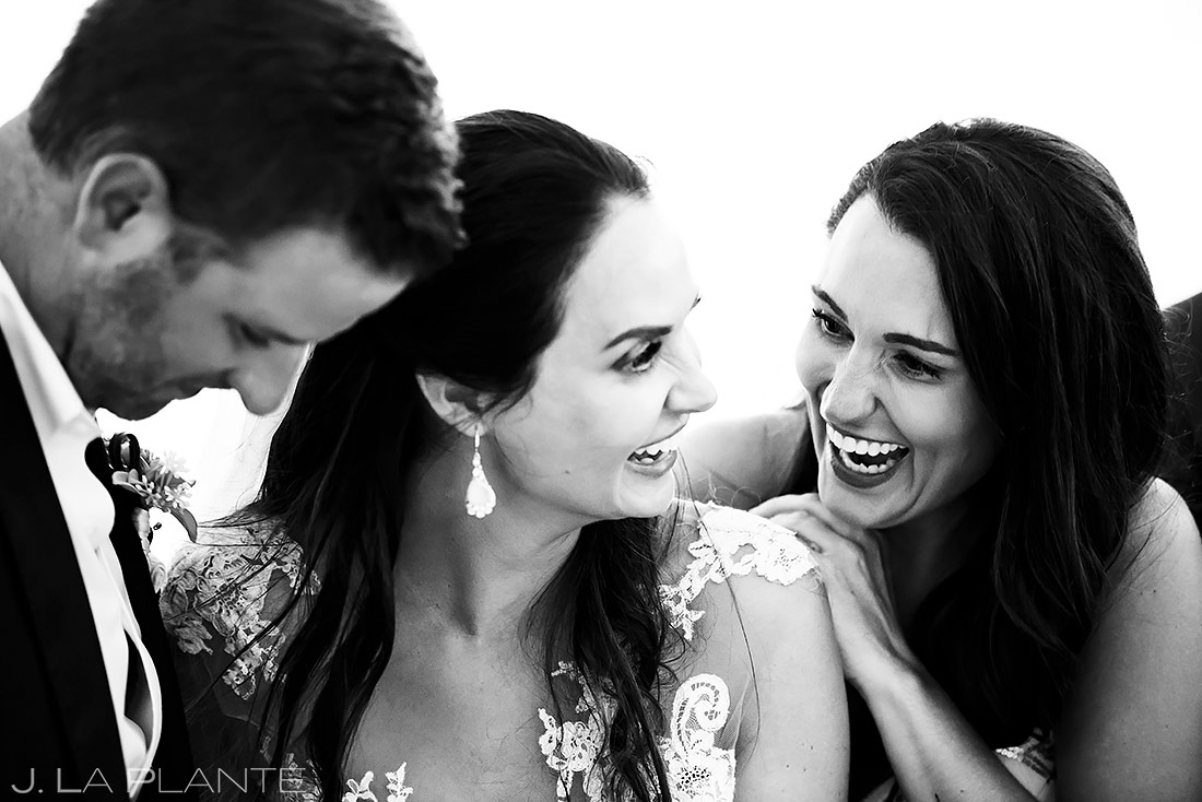 Bride with Maid of Honor | St Lucia Wedding | Destination Wedding Photographer | J. La Plante Photo