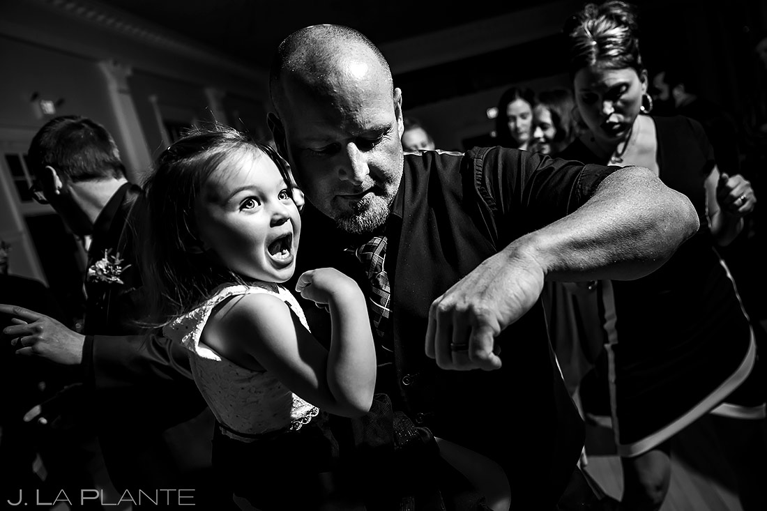 Wedding Reception Dance Party | Stanley Hotel Wedding | Estes Park Wedding Photographer | J. La Plante Photo