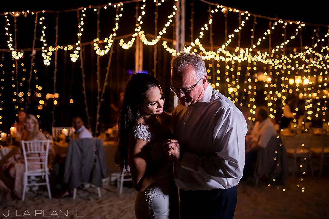 Father Daughter Dance | St Lucia Wedding | Destination Wedding Photographer | J. La Plante Photo