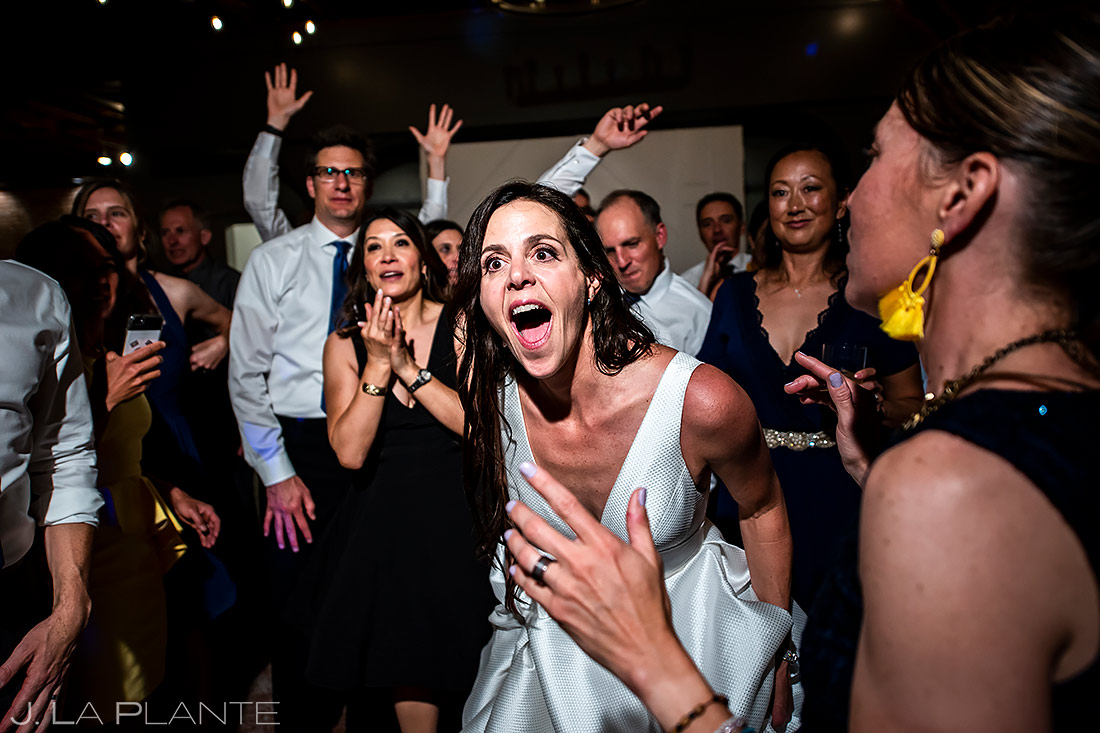 Wedding Reception Dance Party | St Vrain Wedding | Boulder Wedding Photographer | J. La Plante Photo