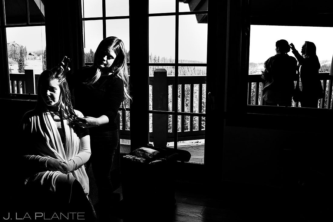 Bride Getting Ready | Breckenridge Wedding | Breckenridge Wedding Photographer | J. La Plante Photo